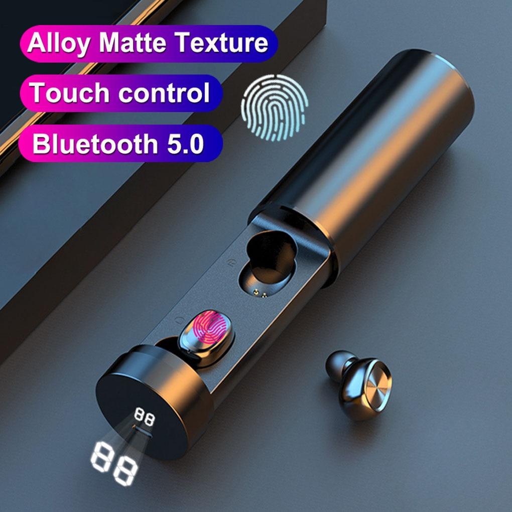 Promo For Smartphone High Quality B9 TWS Bluetooth Earphone 5.0 Wireless 8D HIFI Sport Earphone MIC Earbuds Gaming Music Headset