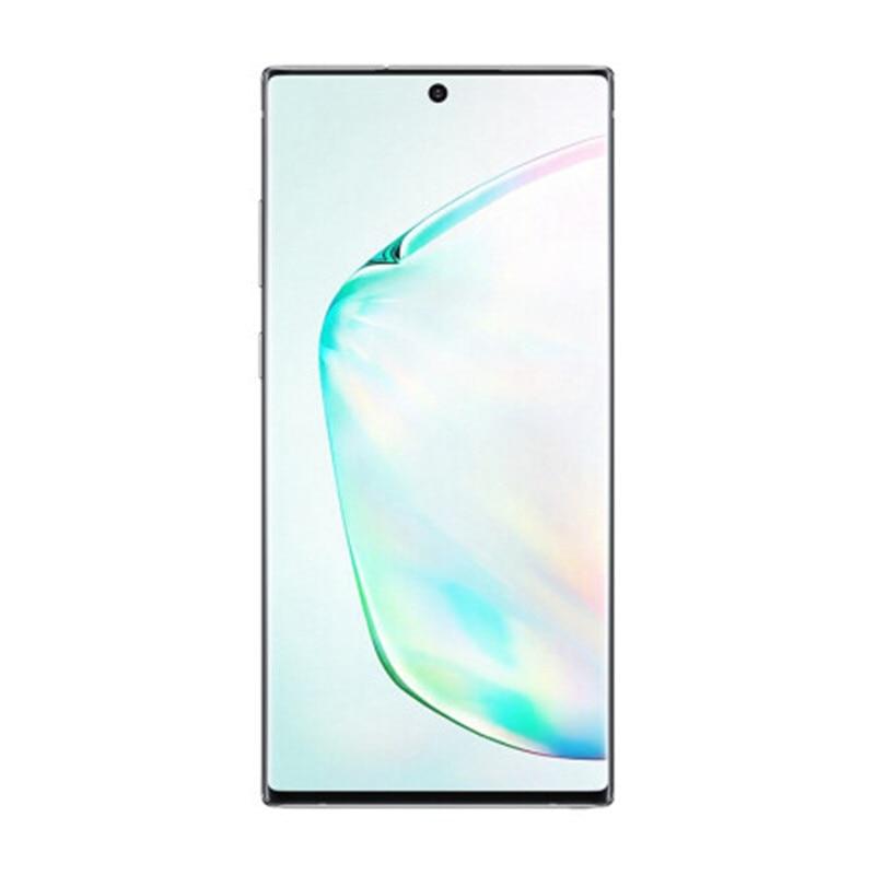 Фото1 - Samsung Galaxy Note10 + N975U Note10 Pro N975U1 разблокирован мобильный телефон Snapdragon 855 Octa Core 6,8 дюйм. тройной камеры 12 г 256