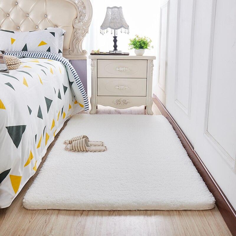 الصلبة اللون سميكة سجادة غرفة معيشة لينة متعدد الألوان اختياري أفخم الكلمة حصيرة غرفة نوم غرفة المعيشة ديكور الكلمة حصيرة