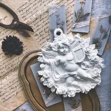 Garland Angel Pendant DIY aromatherapy gypsum candle perfume stone silica gel molds