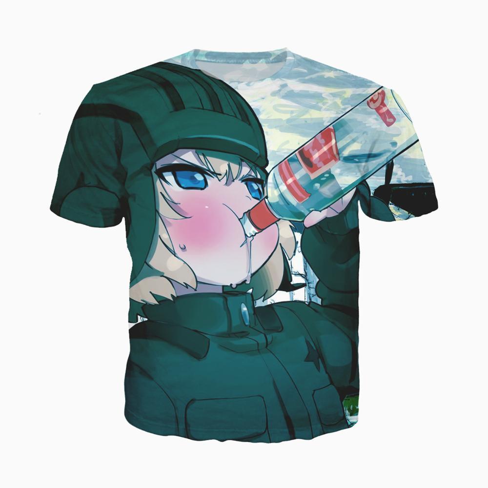 Camiseta estampada anime 3d, feminina e masculina, de manga curta, sexy, moda harajuku, camiseta engraçada camiseta de horror