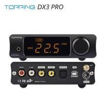 Garniture DX3 Pro LDAC édition AK4493 TPA6120A2 Hifi USB Bluetooth DSD512 DAC amplificateur casque