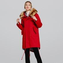 Hiver nouveau coréen col de fourrure à capuche dames doudoune 2019 mode décontracté à manches longues épais chaud femmes veste dhiver