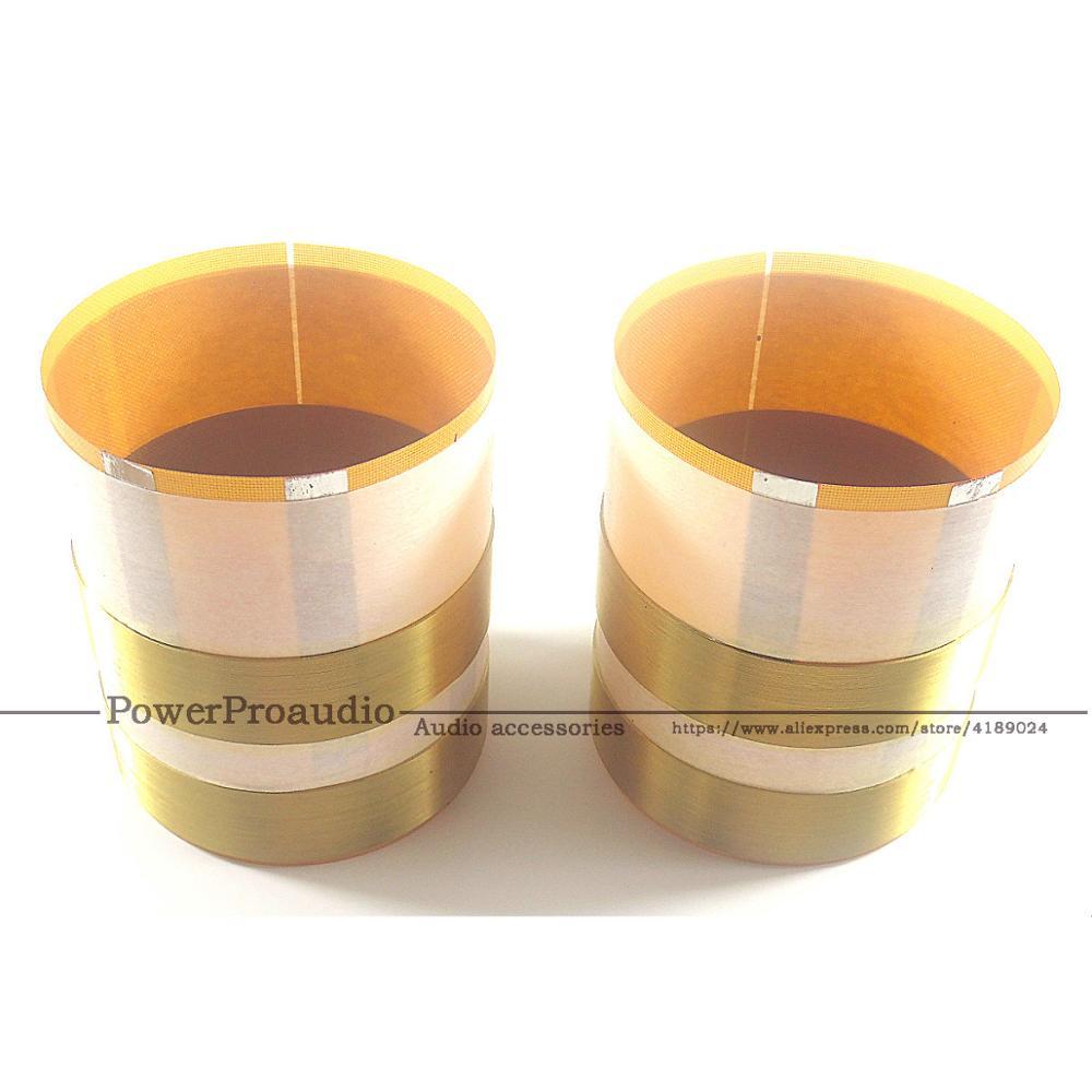 2pcs Falt Qualidade bobina De fio de Alumínio Para JBL 2262HPL, JBL 2265HPL, JBL 2268HPL, JBL SRX 8 ohms bobina de voz