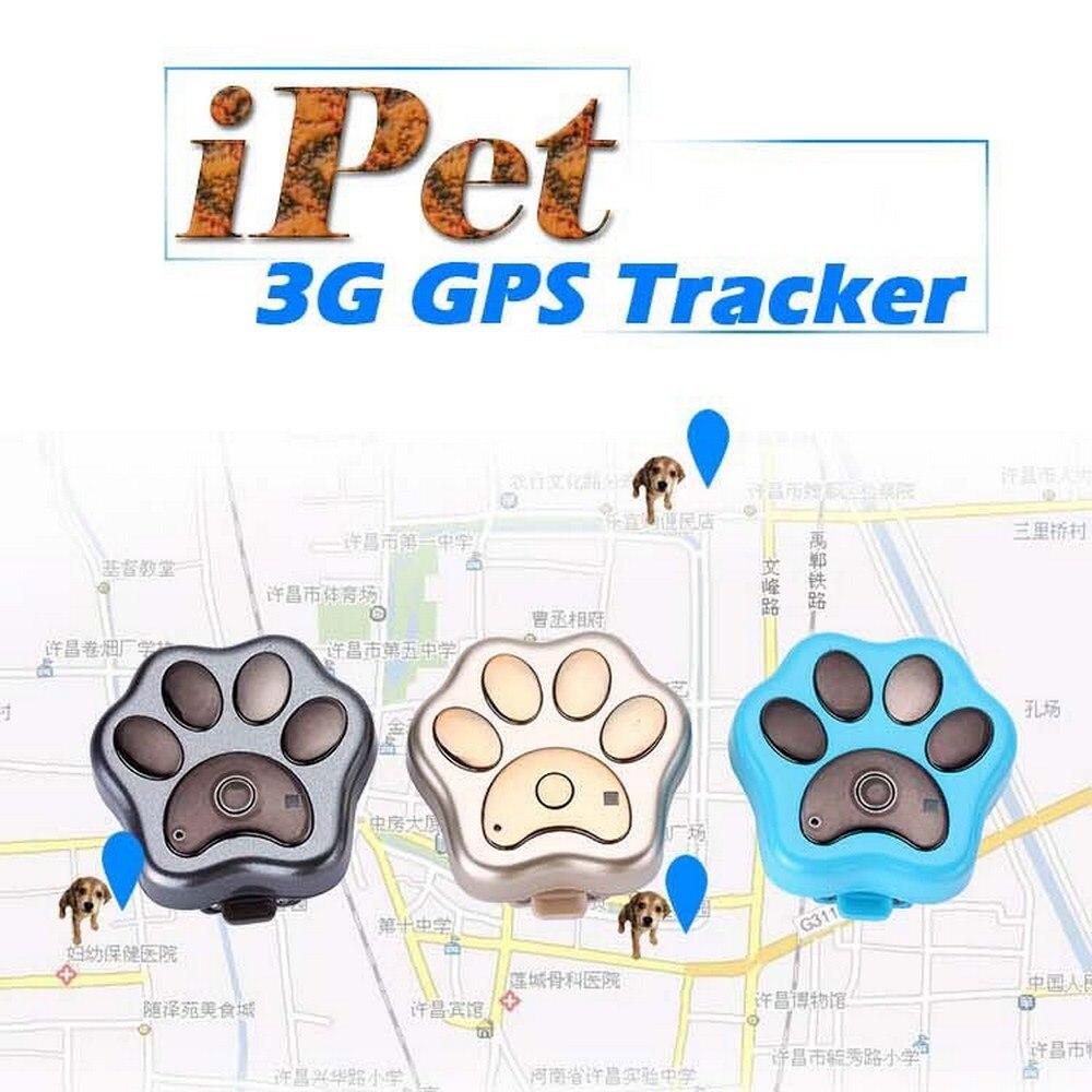 Animal de Estimação Localizador em Tempo Rastreamento à Prova Tracker Gato Cão Real Dwágua Wcdma Rastreador Impermeável Geo-cerca Aplicativo Web Gratuito V40 3g Gps