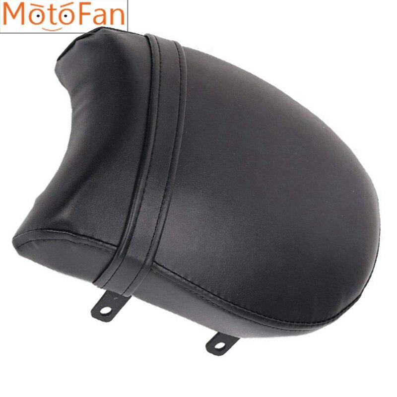 Asiento de pasajero de motocicleta, asiento delantero trasero, cojín de cuero Pillion para Vegas Kingpin Ness Kingpin