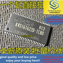10pcs only orginal new 3y brand new imported K4S161622D-TC80 TSOP-50 package memory chip quality ass