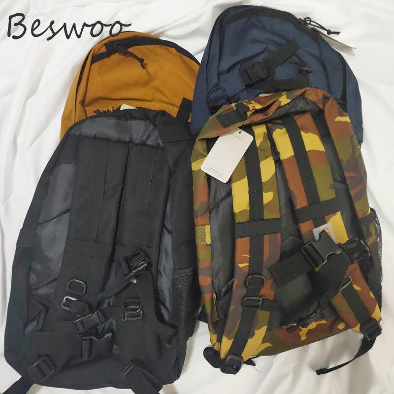 جديد عالية السعة حقائب الظهر للرجل المرأة موضة كارهارت صنعة نمط حقيبة مدرسية كول التمويه سكيت حقيبة حقيبة لابتوب