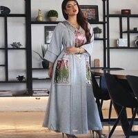 eid mubarak abaya dubai kaftan muslim fashion hijab dress abayas for women vestidos robe femme caftan turkey islam clothing oman
