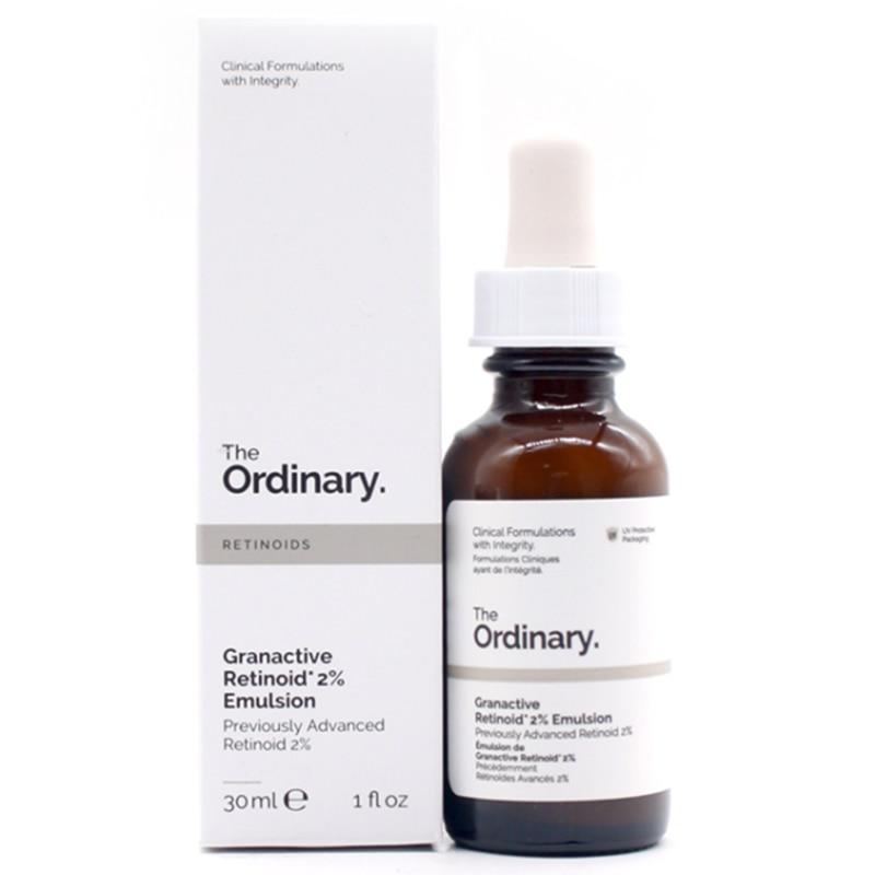 The Ordinary Granactive Retinoid 2% Emulsion 30ml Squalane Retinol Serum Anti-aging Anti-wrinkle Exfoliate Skin Care Face Makeup