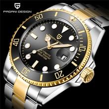 PAGANI DESIGN 2020 남성용 시계 기계식 시계 비즈니스 남성용 시계 브랜드 럭셔리 시계 남성 크로노 그래프 Relogio Masculino