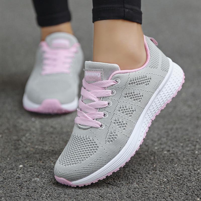Sports Shoes Women Breathable Sneakers Women White Shoes For Basket Femme Ultralight Woman Vulcanize