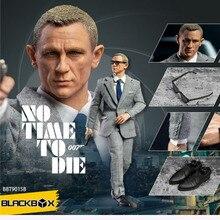 """1/6 BLACKBOXTOYS James Bond No hay tiempo para morir 12 """"muñeco con figura de hombre BBT9015B"""