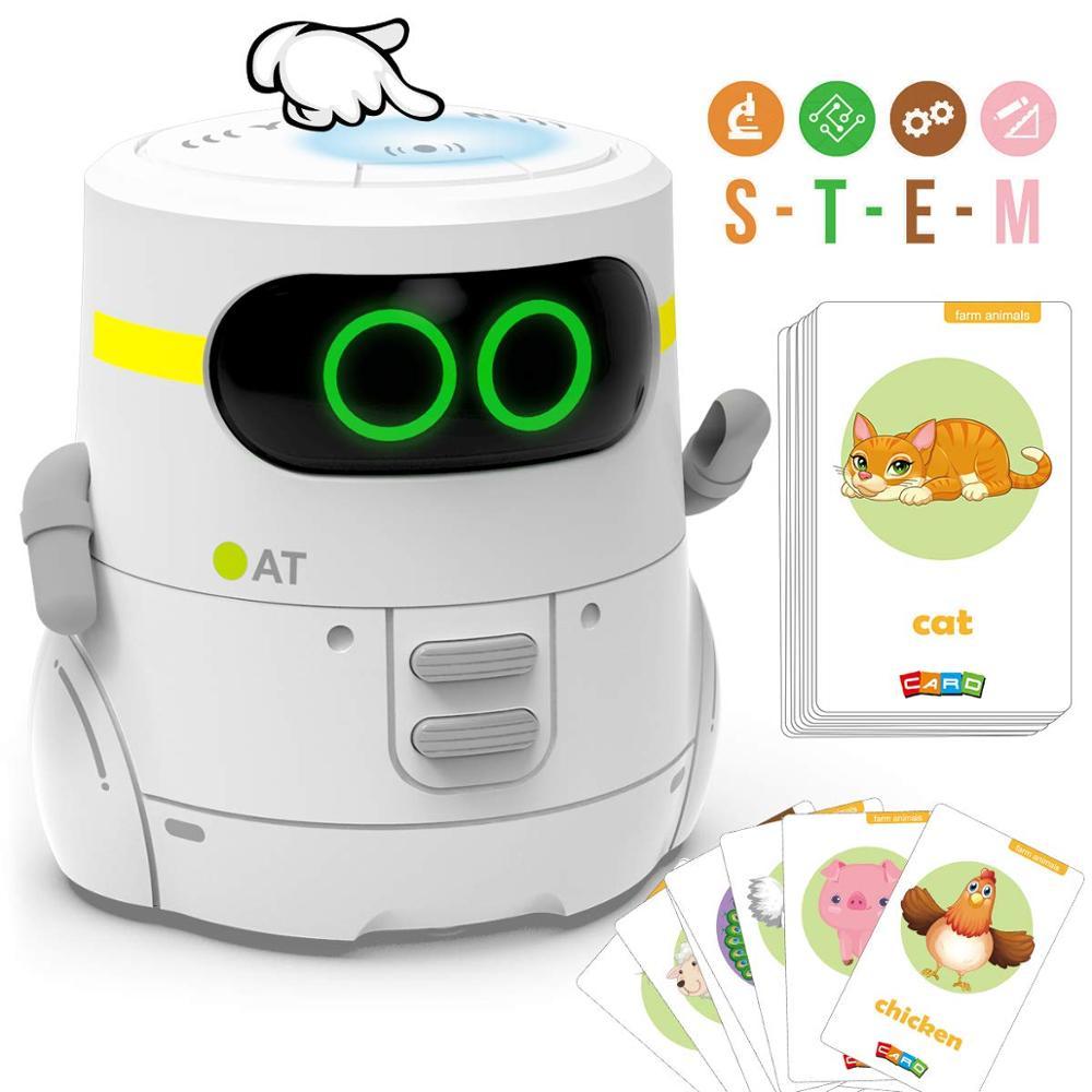 Robot inteligente Rc juguete para niños táctil Robot funcional presente con voz Robot electrónico interactivo juguete con música de baile caminar