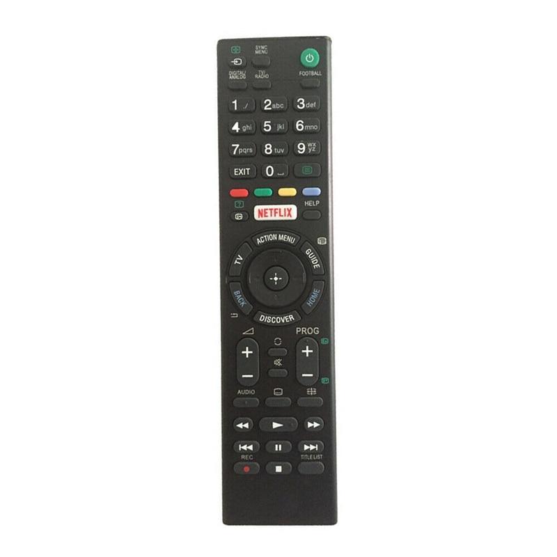 Novo-controle remoto para sony led hdtv tv KDL-50W756C KDL-43W756C KDL-43W805C KDL-43W807C KDL-43W808C KDL-43W809C KDL-50W755C