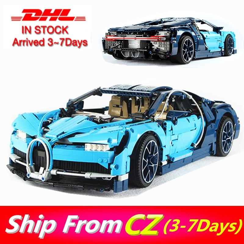 68001 3636pcs  Bugatti Chiron Building blocks technic Car Bricks Compatible 42083  42110 toys for Kids Gift lepins 20086