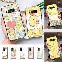 cute cartoon sumikko gurashi phone case for samsung galaxy note10pro note20ultra cover for note20 note10lite m30s back coque