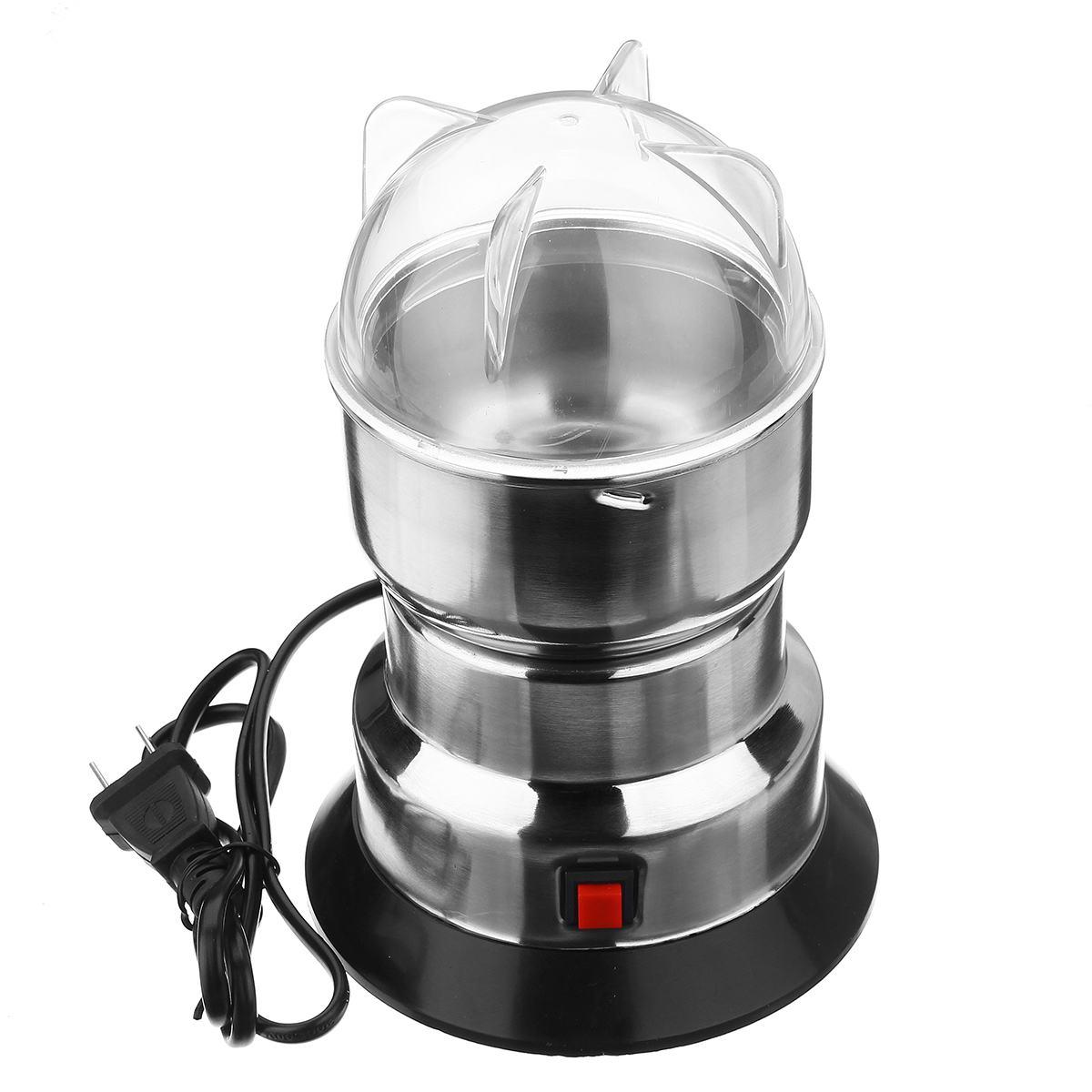 مطحنة قهوة كهربائية, مطحنة قهوة كهربائية للمطبخ ، حبوب ، حبوب ، بهارات ، 10 ثوانٍ ، آلة طحن ، مطحنة قهوة منزلية متعددة الوظائف