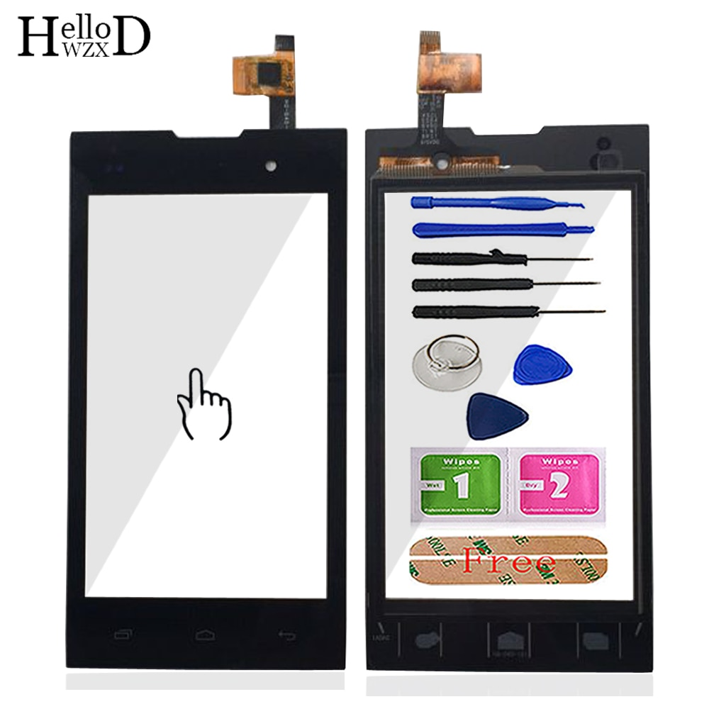 Touch Screen Front Glass For Inew U1 Touch Screen Front Glass Digitizer Panel Lens Sensor 4.0'' Mobi