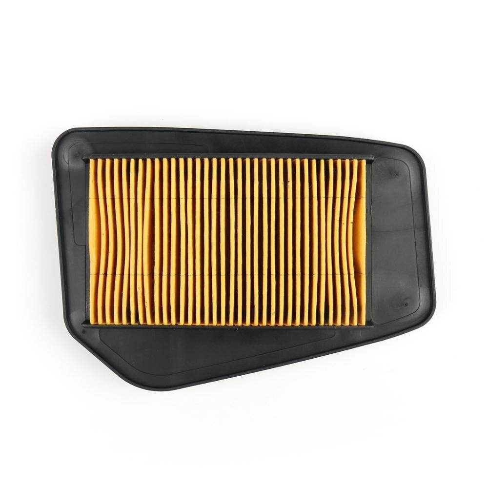 Venta de 1 unidad para Filtro de aire para motocicleta Universal Filtro de entrada de aire de plástico amarillo para Honda CBR125R CBR125 CBR150R CBR150