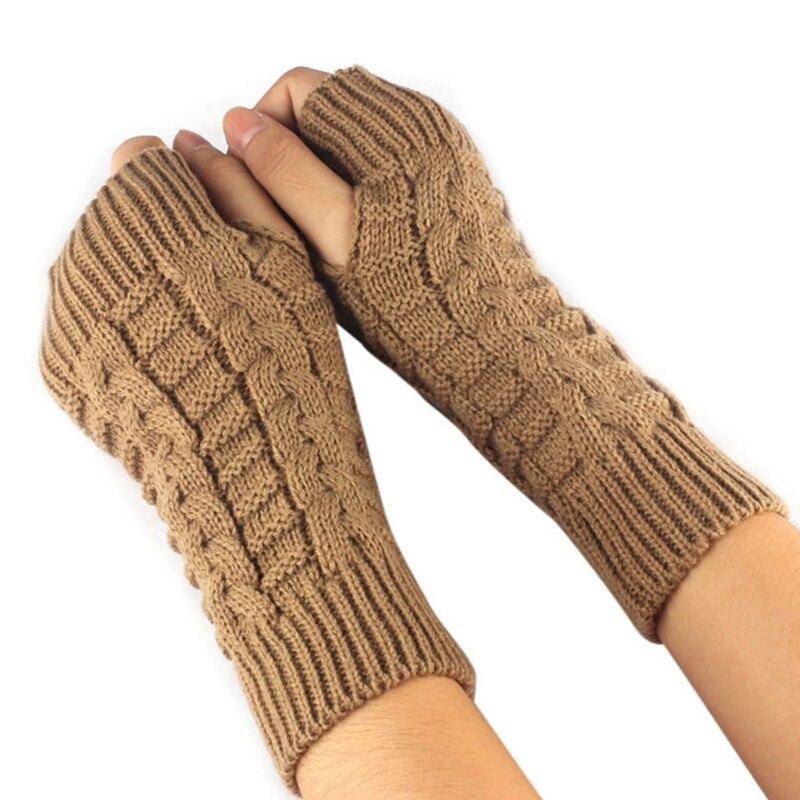 Фото - Knitted Crochet Long Fingerless Gloves Mittens Gants Femme Fashion Gloves Winter Autumn Women Wrist Arm Hand Warmer Wholesale wool mittens warm fingerless gloves black hand warmer winter knitting gloves fashion gloves women arm wrist sleeve hand warmer