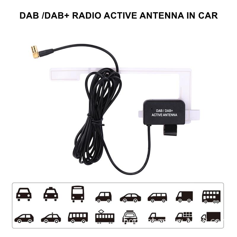 Módulo receptor de Radio Digital DAB + para coche, amplificador de frecuencia...