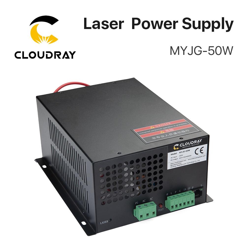 Cloudray 50 واط CO2 ليزر امدادات الطاقة ل CO2 النقش بالليزر آلة قطع MYJG-50W الفئة