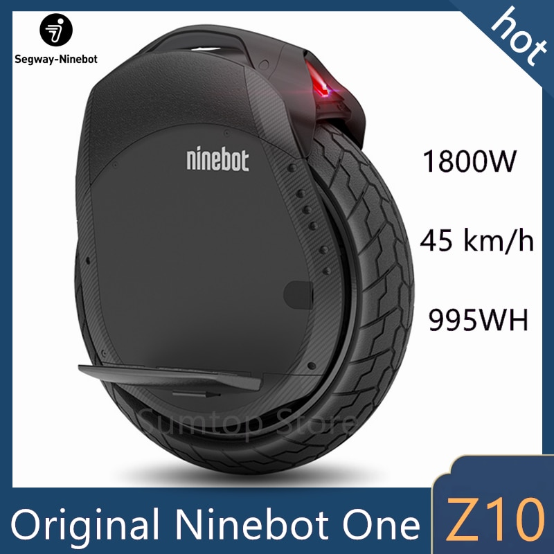 Original Ninebot One Z10 Z6 Unicycle Self Balancing Electric Scooter 1800W Motor Speed 45km/h build-in Handle Hoverboard