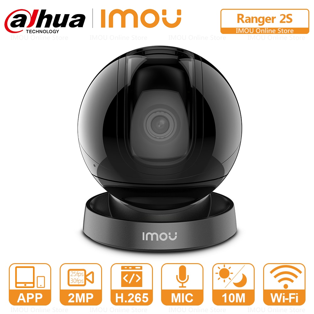 Dahua Imou Indoor Auto Cruise Wifi Camera Panoramic View Built-in Siren Smart Tracking Two-Way Talk