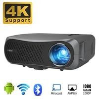 7200 Lumen PROJECTEUR LED Android Bluetooth WIFI Full HD NATIF 1080P 200 pouces Grand Ecran 3D Home Cinema Intelligent Videoprojecteur