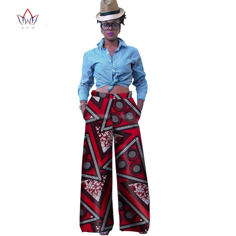 Wy1029-بنطلون نسائي شتوي متوسط الحجم ، ملابس أفريقية غير رسمية مع سحاب