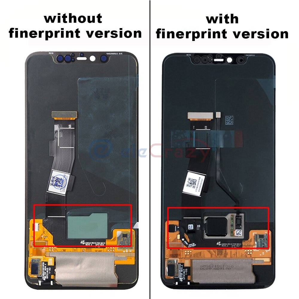Original AMOLED for Xiaomi Mi8 Pro/Mi8 LCD Display with Touch Screen Digitizer Assembly Replacement Kit 100% Testing enlarge