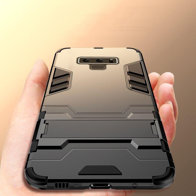 Funda CAPSSICUM Armor Kickstand para Samsung Galaxy Note 9, carcasa dura antigolpes con soporte posterior para Samsung Note 9