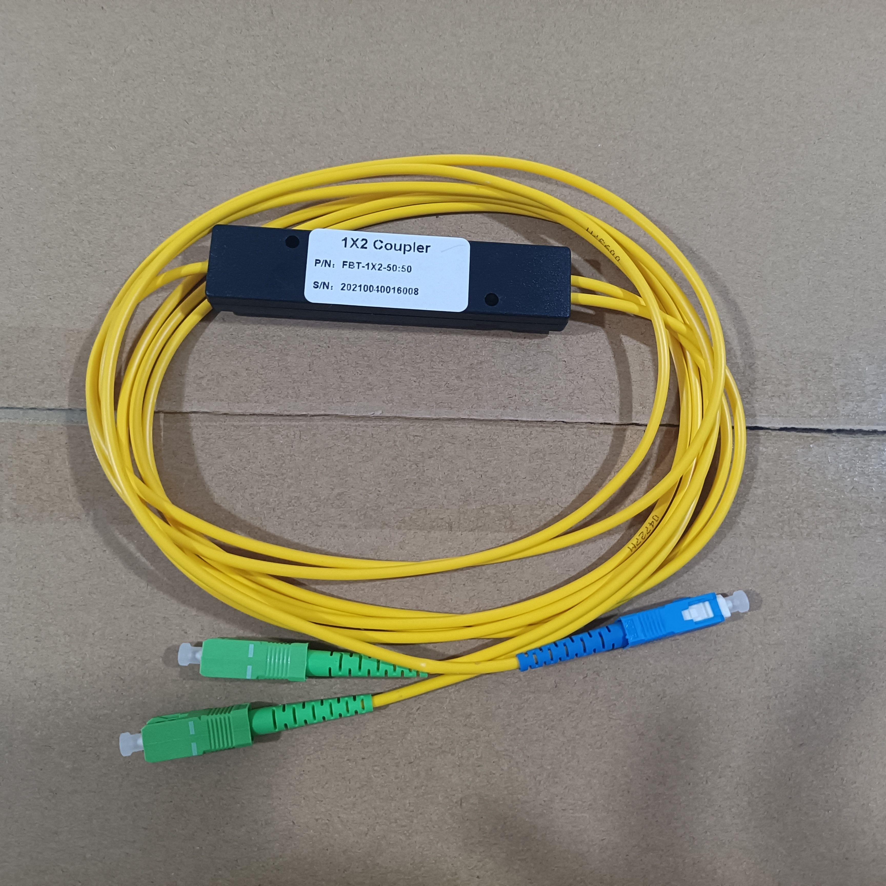 20pcs/lot 1X2 SC/UPC SC/APC PLC Singlemode Fiber Optical Splitter FTTH PLC Fabrica Esse Splitter Box SM PLC 1x2 SC/UPC SC/APC