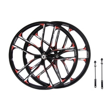 26 pouces 27.5 pouces Cassette VTT en alliage de magnésium roue 10 rayons roues vélo vtt frein à disque vélo accessoires