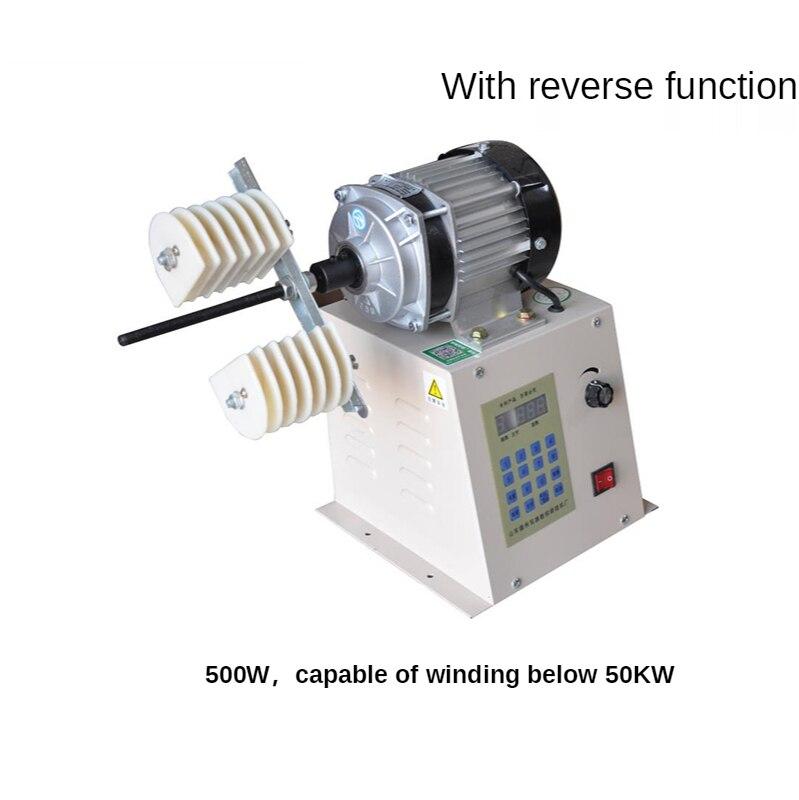 220 فولت التلقائي نك البرمجة آلة لف عالية عزم دوران المحرك إصلاح آلة لف سرعة تنظيم آلة لف