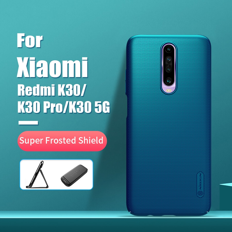 Funda Redmi K30 6,67 NILLKIN Frosted PC mate funda trasera dura de regalo para teléfono Xiaomi Poco X2 funda Redmi K30 Global K30 Pro