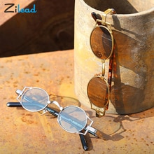 Zilead Punk Style Sunglasses Personality Retro Sun Glasses For Both Men and Women Soft Anti Blue Lig