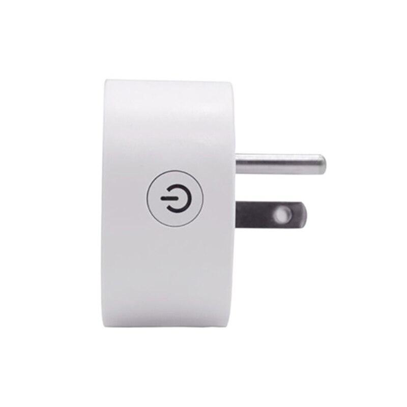 Tuya ZigBee Smart Plug US 15A 110-250V Timer Socket Smart Home Wireless Plug Compatible Alexa Google Home Assistant Automation