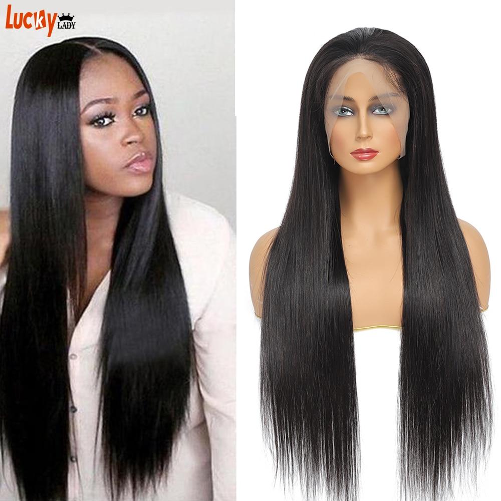 Cheap Bone Straight Human Hair Wig With Free Shipping Malaysian Glueless Human Hair Headband Wigs For Black Women 250% Density