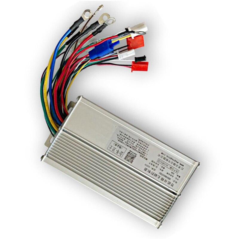 60V 48V 500W BLDCM Controller Lead-acid Li-ion Battery Electric Bike Dual-mode Automatic Identification Voltage 12 MOS Tubes
