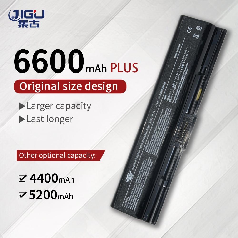 Batería JIGU para ordenador portátil Toshiba Equium A300D Satellite Pro A300 Satellite A300 A305 A305D A350 A350D A355 A355D