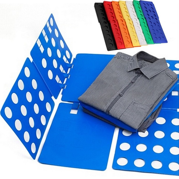 Clothes Quick Folding Board Practical Detachable Child Adult Magic Lazy T Shirt Folder Laundry Save Time Clothing Pegs Organizer clothes folding board fast cloth folder plastic t shirts jumper organizer save time quick convenient stacking laundry fold board