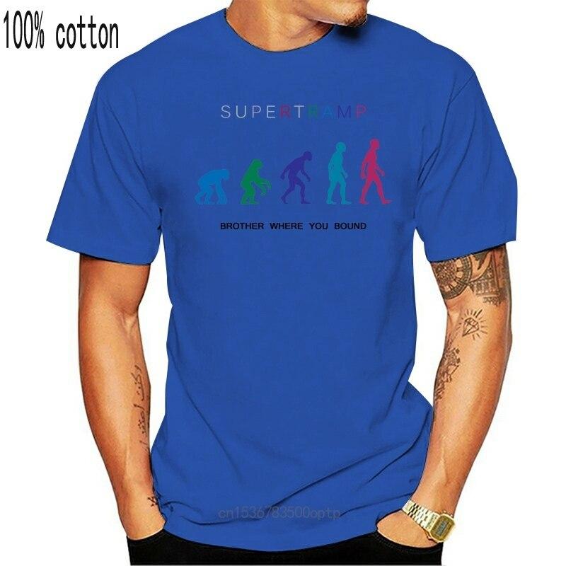 New The Pop Rock Brother Where You Bound Supertramp Tshirt Men S to 3XL White Men Women Unisex Fashion tshirt Hoodie