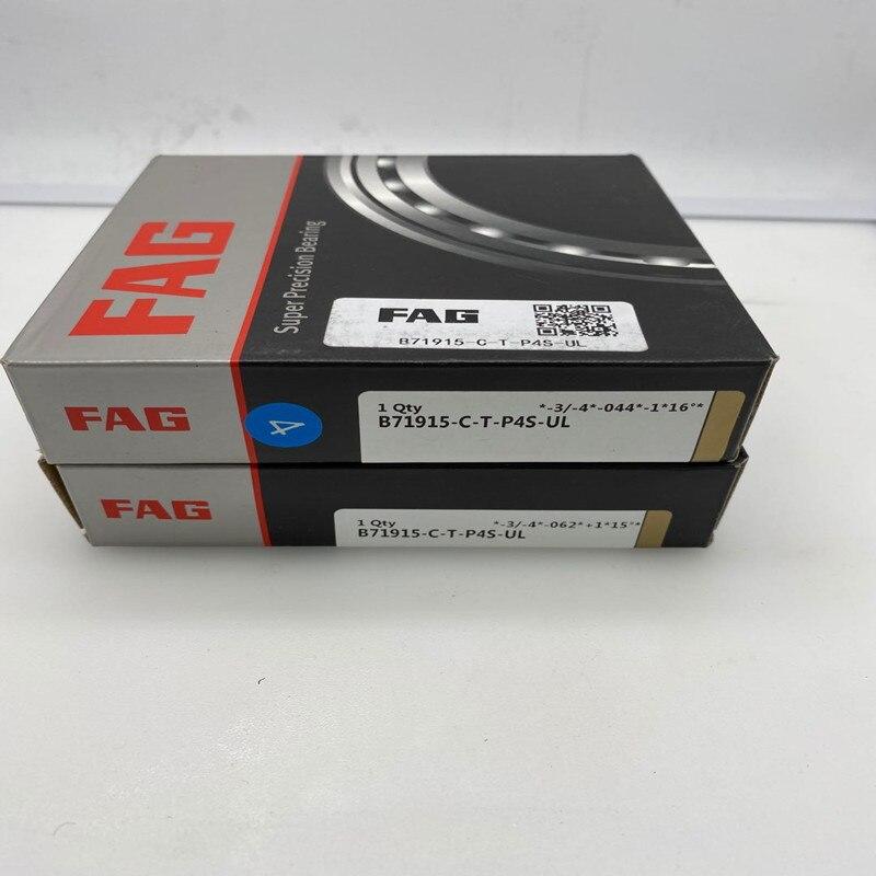 Rodamientos de husillo FAG B71919-C-T-P4S-UL con tolerancia limitada para montaje de par o unidad