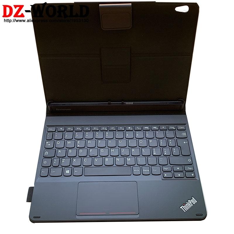 New Original KU-1506 Italy Case Portable Mini Base  Folio Keyboard for Lenovo Thinkpad 10 20E3 20E4 Tablet 03X9164