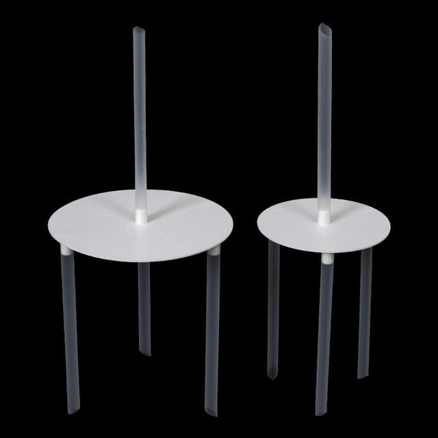 6/8inch Cake Support Frame Pillars Wedding Cake Stands Multi-layered Column Support Stand Decor Dessert Accessories