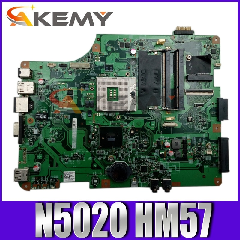 Original Laptop motherboard For DELL Inspiron N5020 HM57 Mainboard CN-01D15G 01D15G 10210-SB DDR3
