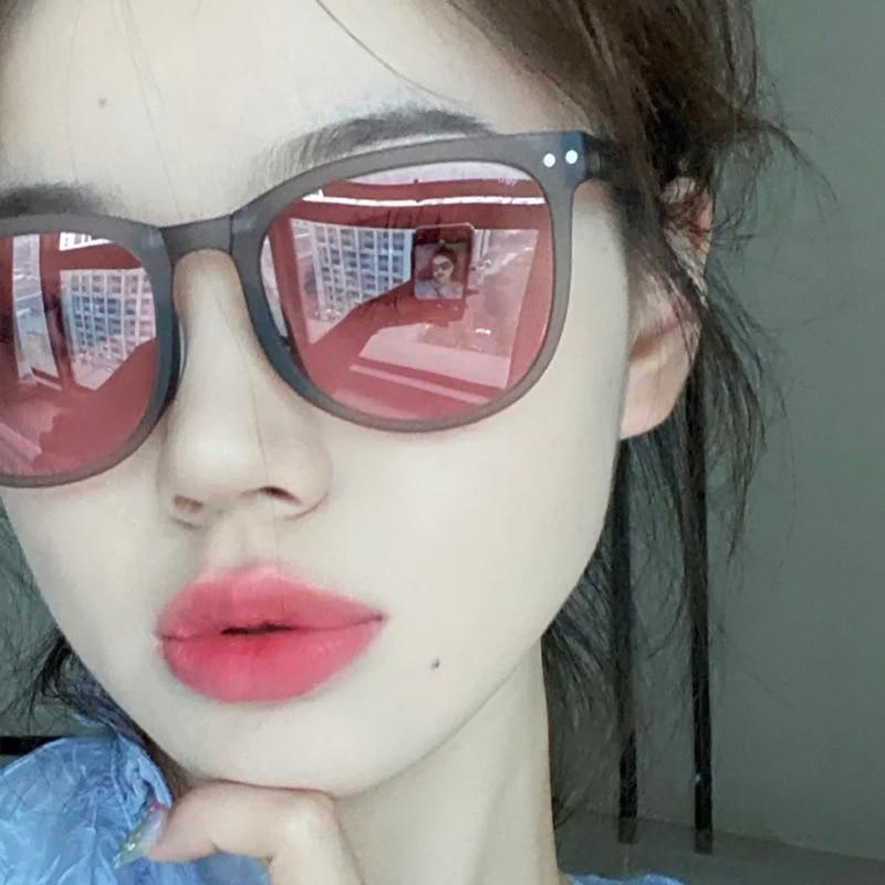 Gafas De Sol Plegables con personalidad para hombre y mujer, lentes De Sol con personalidad a la moda, antiultravioleta, luz polarizada para conducción