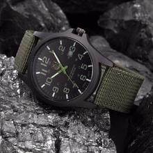 Outdoor Mens Watches Waterproof Date Stainless Steel Military Sports Watch Analog Quartz Wrist Watch